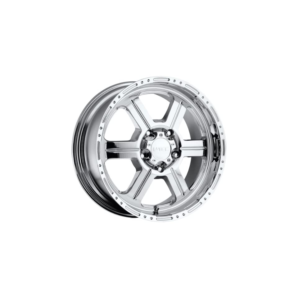 Vision Off Road 17 Chrome Wheel / Rim 6x135 with a 0mm Offset and a 87.1 Hub Bore. Partnumber 326 7836C0
