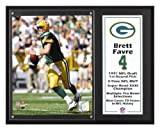 Brett Favre Green Bay Packers Sublimated 12x15 Player Plaque Amazon.com