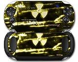 Sony PS Vita Skin Radioactive Yellow by WraptorSkinz