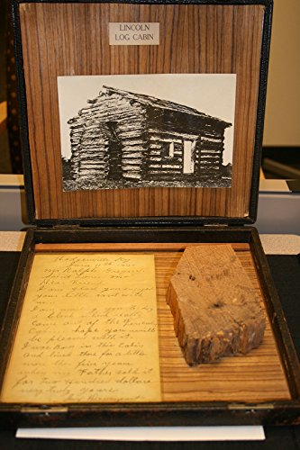 poster-lincoln-log-a-piece-of-log-claimed-by-jay-davenport-to-have-been-part-the-original-cabin-was-