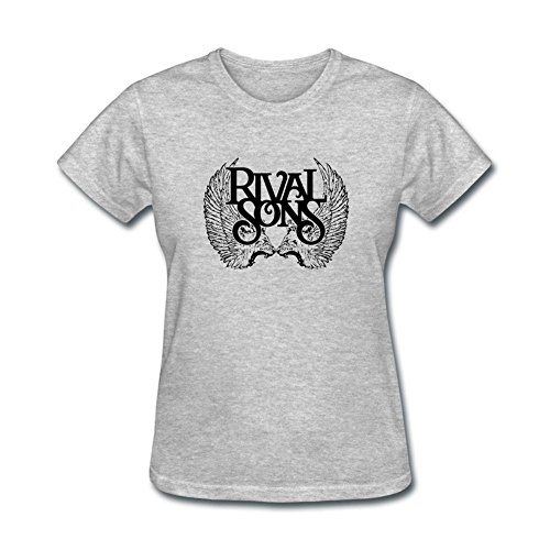 DESBH Women's Rival Sons Short Sleeve T Shirt (Racing Rivals Cash compare prices)