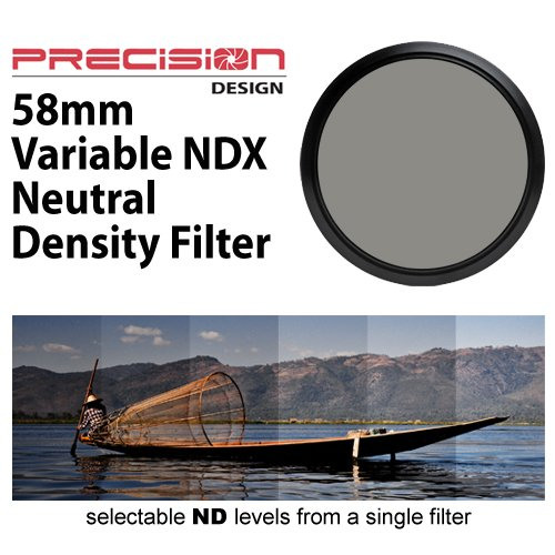 Precision Design 58mm Variable NDX Neutral Density Filter