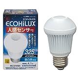 アイリスオーヤマ LED電球 人感センサー付mini 30w相当 昼白色 325lm LDA4N-H-S4