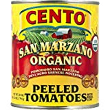 Cento San Marzano Organic Certified Peeled Tomatoes, 28-Ounce Cans (Pack of 12) ~ Cento