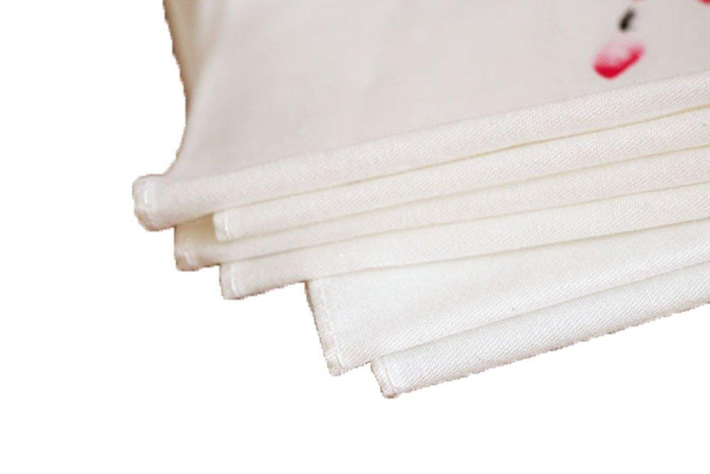 Ladies Chinese Antique Style Soft Cotton Linen handkerchiefs 3