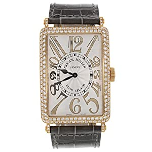 Franck Muller Geneve Long Island 18K Rose Gold Diamond Automatic Unisex Watch