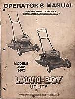 Printed 1980 Lawn-boy Walk Behind 4502 &...