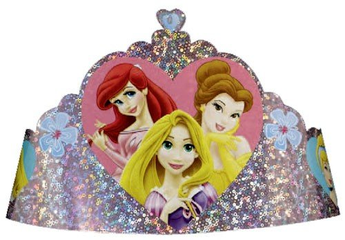 Disney Princess Tiara 8 pcs