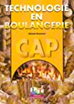 Technologie en boulangerie, CAP 1�re...
