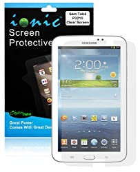 COD(TM) Screen Protector Film Clear (Invisible) for Samsung Galaxy Tab 3 7.0 P3200 (3-pack)