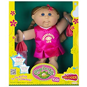 Amazon.com: Cabbage Patch Kids Doll - Cheerleader, Caucasian Girl