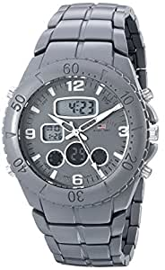 U.S. Polo Assn. Sport Men's US8579 Analog-Digital Display Analog Quartz Grey Watch