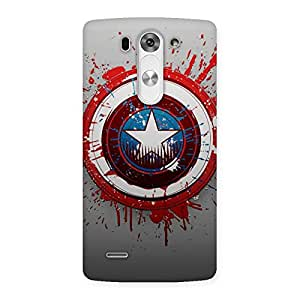 Cute Blood Red Round Back Case Cover for LG G3 Mini