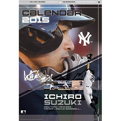 2015カレンダー イチロー
