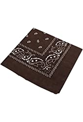 Cotton Cowboy Cowgirl Square Bandana Head Wrap Scarf Neck Scarf Waistband