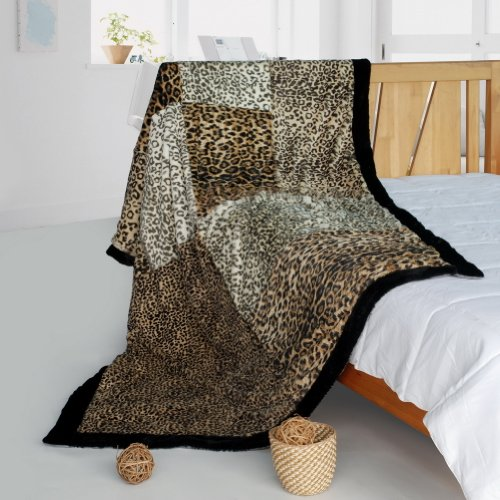Onitiva - [Hug Sunlights] Patchwork Throw Blanket (61 By 86.6 Inches)