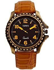 Romero Terrapin Analog Black Dial Watch For Men - R015