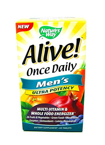 Natures Way Alive! Once Daily Men's Ultra Potency Multi-