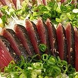 カツオのたたき(初鰹・赤身) 約800g 大人6~8人前 ギフトにおすすめの鰹タタキ背腹2本セット