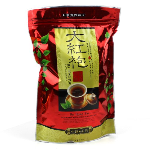 Amaranteen - Tea Wuyi Oolong Premium Da Hong Pao Big Red Robe Oolong Tea Wuyi Yan Cha Wuyi Cliff Tea Wulong 250G Chinese Top Grade Dahongpao