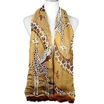 Women Giraffe Scarf Summer Hot and Fashion Nl-1862 (Color E)