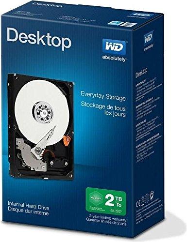 WD Blue 2 TB Interne Festplatte (8,89 cm (3,5 Zoll)