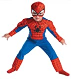 Costumes For All Occasions DG50122M Spiderman Toddler Muscle 3T-4T