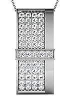Diamant Vendome Conjunto de cadena y colgante DVP11034 Oro Blanco