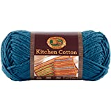 Lion Brand Yarn 831-106 Kitchen Cotton Yarn, Blueberry