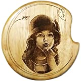 GREEN 1, NMV Wooden Plaque,Engraved Wooden Photo Plaque,Laser Engraved Photo On Wood