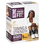 Forever Fit by Denise Austin,Two Ankle/Wrist Weights, 5 lb 1 each