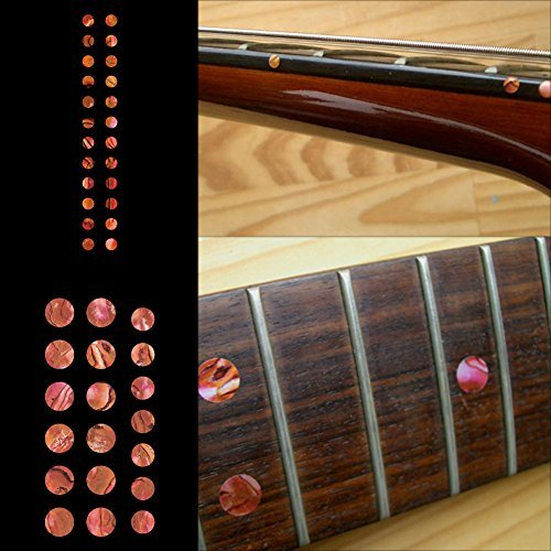 Fretboard Markers Inlay Sticker Decals for Guitar and Bass - Custom Dots Set-AR (Fretboard Side Marker compare prices)