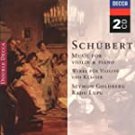 Schubert : Music for Violin & Piano