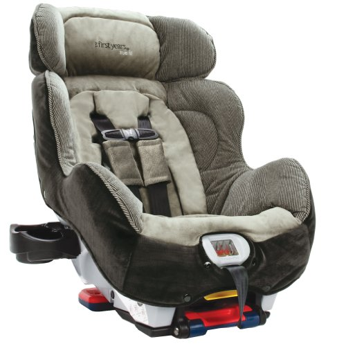 The First Years True Fit C670 Premier Convertible Car Seat, Rail Stripe
