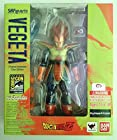 Bandai Tamashii Nations SH Figuarts Vegeta Original Animation Colors SDCC Exclusive Dragonball Z Action Figure