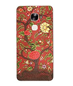 Snazzy Rajasthani Printed Pink Hard Back Cover For Letv Le Eco Le 2