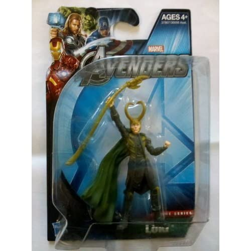 Marvel Avengers Movie EC Action Figure Loki by Hasbro (English Manual)
