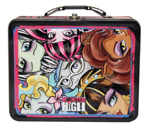 The Tin Box Company Monster High Carry All Tin, Large