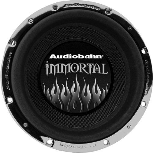 Audiobahn Awis12J 12-Inch Quad 2 Ohm Immortal Series Car Subwoofer