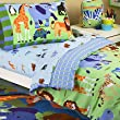 Wild Animals Toddler Bedset Plus by Olive Kids