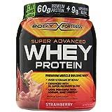 Proteina Whey Body Fortress super avanzada, 2 libras, sabor fresa