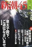 新潮45 2013年 03月号 [雑誌] [雑誌] / 新潮社 (刊)