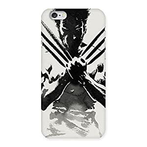 Ready Wolf Shade Back Case Cover for iPhone 6 6S