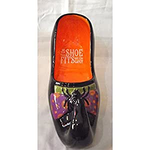 Grasslands Road Queen of Halloween Shoe Candy Dish 469421
