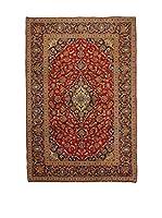 Eden Alfombra M.Kashan Rojo/Multicolor 198 x 300 cm