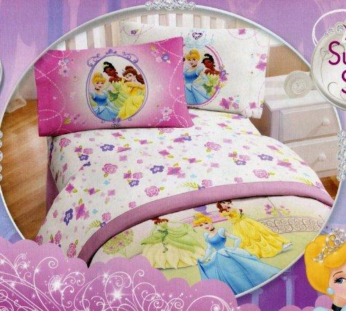 Disney Princess Twin Comforter And Twin Sheet Set front-94166