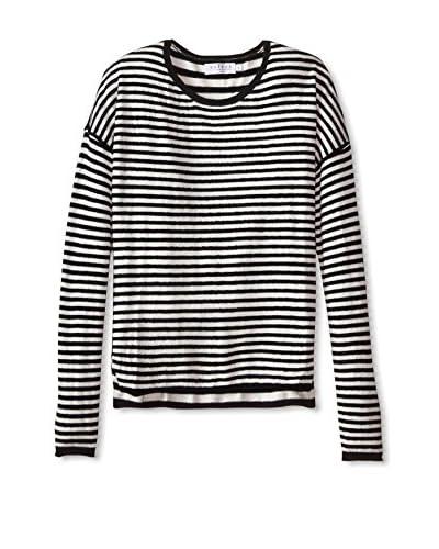 Velvet Women's Striped Sweater