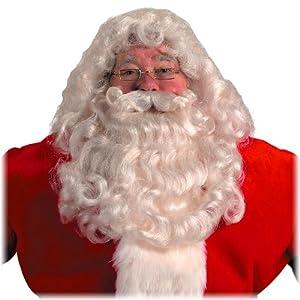 Halco 20 Professional Santa Wig Beard Set