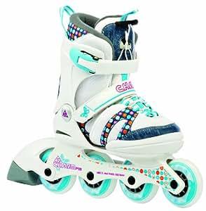 K2 Mädchen Skate Charm Pro, weiß, 35-40 cm, 3020003.1.1.L