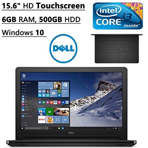 Dell Inspiron 15.6-inch Touchscreen Premium Laptop PC (2016 Newest Model), Intel Core i3 Dual-Core Processor, 6GB DDR3 RAM, 500GB Hard Drive, SuperMulti DVD Drive, HDMI, Windows 10 (Model 1 Sales compare prices)